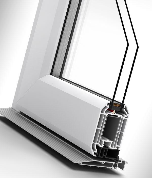 Residential PVC-U Doors